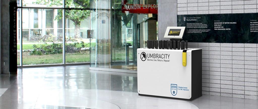 umbracity kiosk design